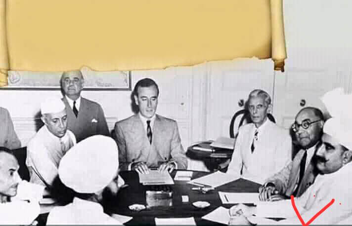 Hakim ji in a Meeting with Jawahar Lal Nehru